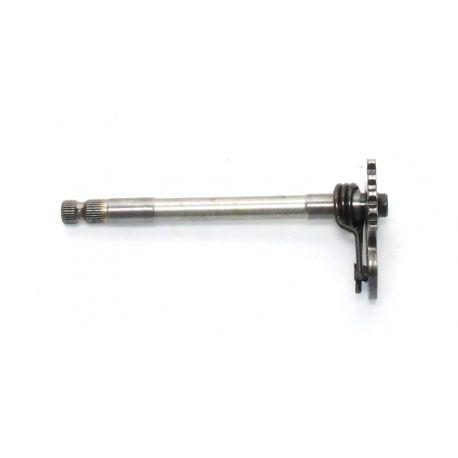 HUSQVARNA SM 610 I.E. 2008 Gearbox pedal shaft assy , spring 800075302 , 800046225 , 8A0031503