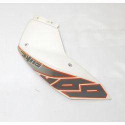 KTM DUKE 690 2013 SPOILER L/S WHITE , DECAL 7600805000028 , 76008099000