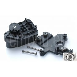 BMW S1000RR Base plate, actuator , Servo unit, exhaust flap  18307718135 , 18307717856