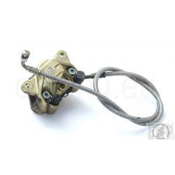 APRILIA RSV 1000 REAR BRAKE CALIPER, GOLD , BRAKE HOSE AP8113897 AP8113873