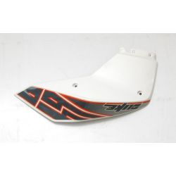 KTM DUKE 690 SPOILER R/S WHITE , DECAL 7600805100028 , 76008099000