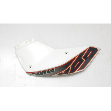 KTM DUKE 690 SPOILER L/S WHITE , DECAL 7600805000028 , 76008099000