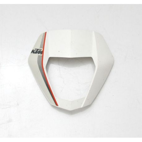 KTM DUKE 690 HEAD LIGHT MASK WHITE  , DECAL 7600800100028 , 76008099000