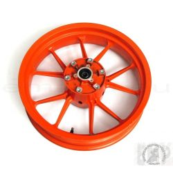 KTM DUKE 390 REAR WHEEL CPL. - ORANGE 4X17 9021000104404