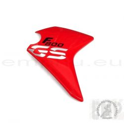 BMW F800GS Side cover, right , RACING-RED 46638556042