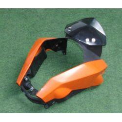 KTM DUKE 125 / ABS MASK BRACKET , WIND SHIELD , MASK SPOILER L/S R/S ORANGE 90114062000 , 90108008000 , 90108002000