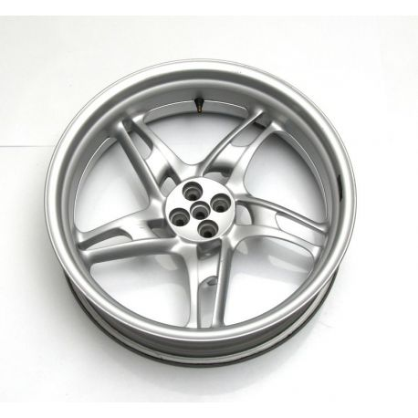 Silver rear wheel , 5,00X17 36312331692 BMW R 1150 RT