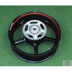 KTM SUPERDUKE 990 % REAR WHEEL CPL. BLACK 07 6101000104430