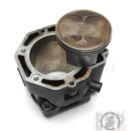 KTM LC4 640 DUKE II CYLINDER 101MM BLACK 620/640 AND PISTON 58330005100 ,  58430007000