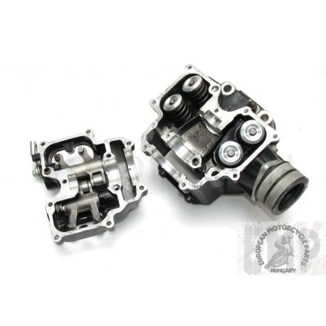KTM LC4 640 DUKE II CYLINDER HEAD AND INTAKE & EXHAUST ARM & ALL VALVE 58436020000 , 58036060644 , 58336061044